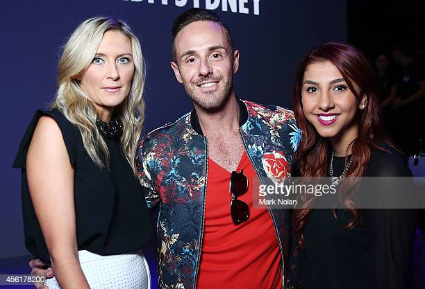 Donny Galella attends the Target show during MercedesBenz Fashion Festival Sydney at Sydney Town Hall on September 27 2014 in Sydney Australia