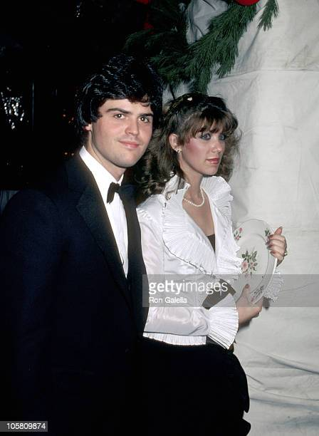 Donny Osmond and Debbie Osmond during 'Dreamgirls' Opening Night Party at Tavern on the Green in New York City New York United States