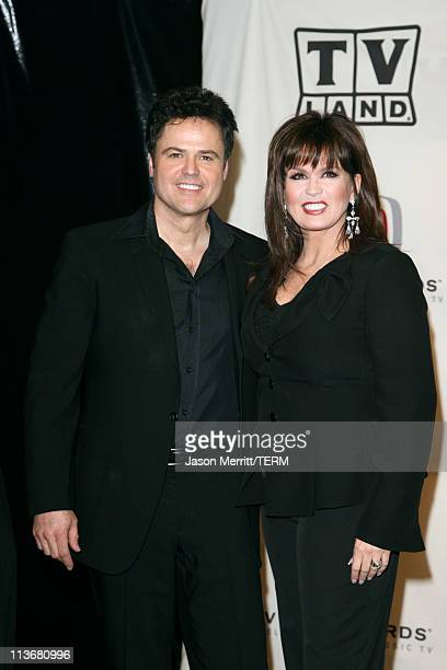 Donny Osmond and Marie Osmond winners of Favorite Singing Siblings