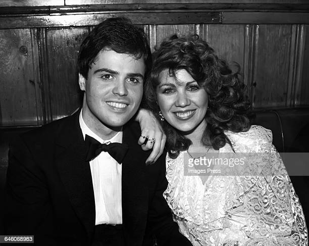 Donny Osmond and wife Debbie circa 1982 in New York City