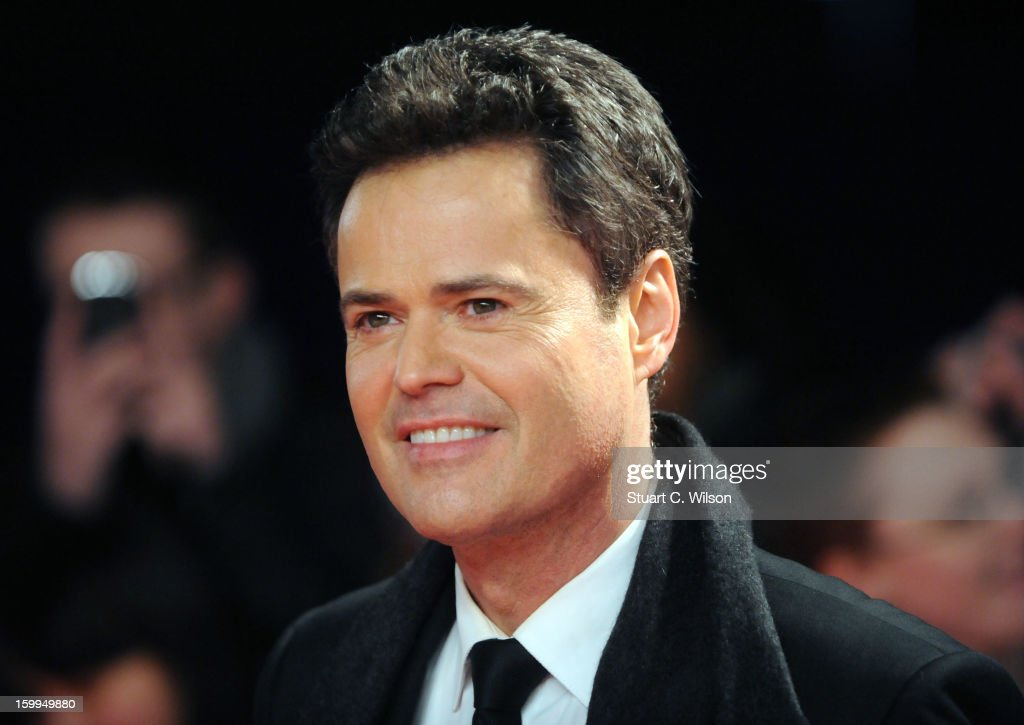 <a gi-track='captionPersonalityLinkClicked' href=/galleries/search?phrase=Donny+Osmond&family=editorial&specificpeople=214564 ng-click='$event.stopPropagation()'>Donny Osmond</a> attends the National Television Awards at 02 Arena on January 23, 2013 in London, England.