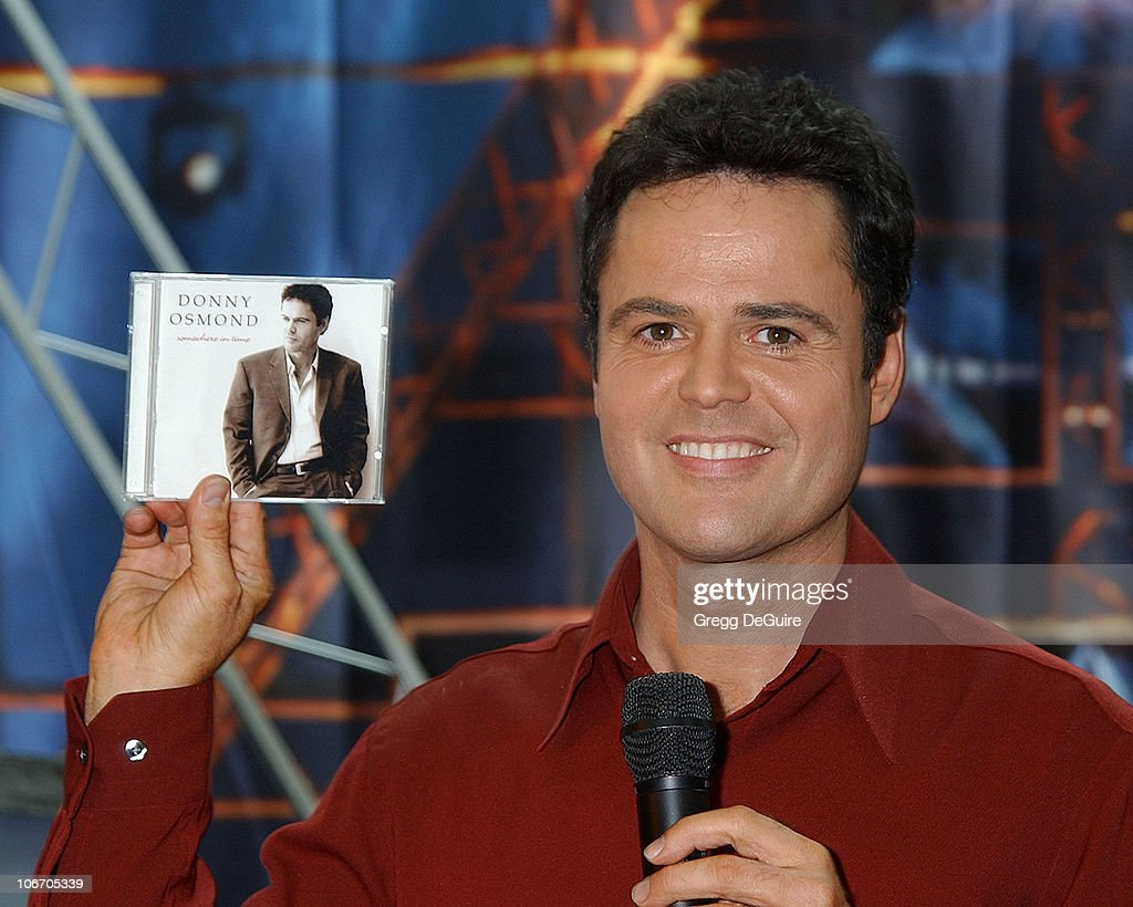 how tall is donny osmond
