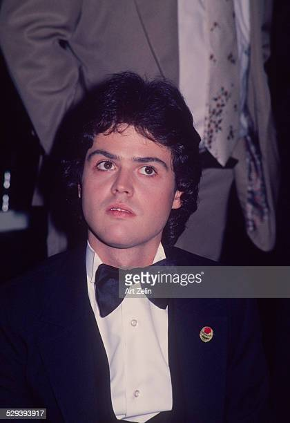 Donny Osmond in a tux closeup circa 1970 New York