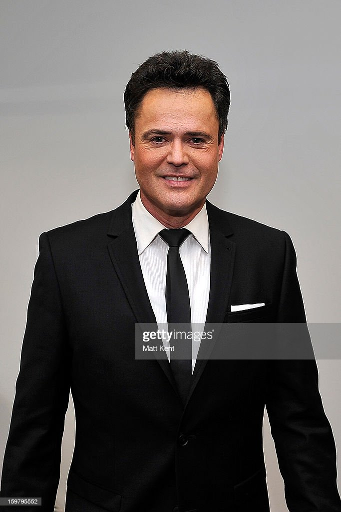 <a gi-track='captionPersonalityLinkClicked' href=/galleries/search?phrase=Donny+Osmond&family=editorial&specificpeople=214564 ng-click='$event.stopPropagation()'>Donny Osmond</a> poses backstage at the Donny and Marie Osmond concert at the 02 Arena on January 20, 2013 in London, England.