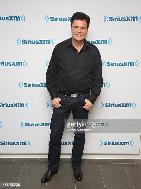 Donny Osmond visits at SiriusXM Studios on January 13 2015 in New York City