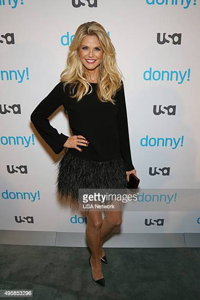 DONNY 'Donny Premiere Party' Pictured Christie Brinkley from 'Donny'