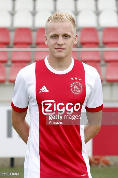 Donny van de Beek during the team presentation of Ajax on July 22 2017 at the at the Toekomst in Amsterdam The Netherlands