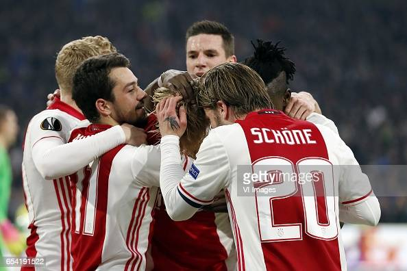 UEFA Europa League'Ajax v FC Kopenhagen' : News Photo