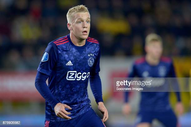 Donny van de Beek of Ajax during the Dutch Eredivisie match between NAC Breda v Ajax at the Rat Verlegh Stadium on November 18 2017 in Breda...