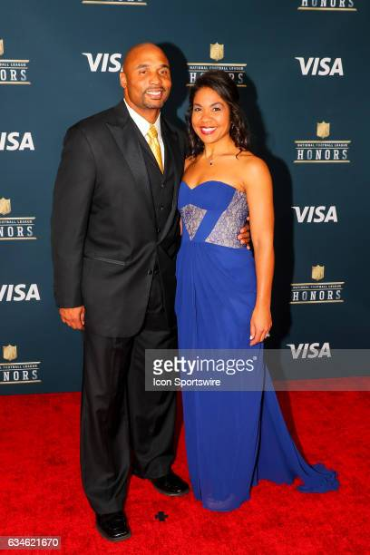 Donovan Darius on the Red Carpet at the 2017 NFL Honors on February 04 at the Wortham Theater Center in Houston Texas