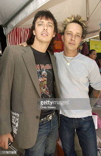Donovan Leitch and Billy Morrison during The Silver Spoon Beauty Buffet Sponsored By Allure Day Two at Private Residence in Los Angeles California...