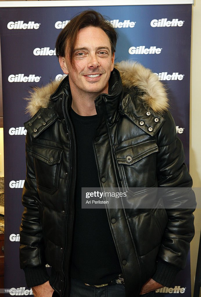 Donovan Leitch attends Day 1 of Gillette Ask Couples at Sundance to 'Kiss & Tell' if They Prefer Stubble or Smooth Shaven on January 18, 2013 in Park City, Utah.