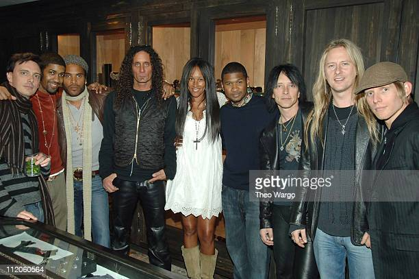 Donovan Leitch Fonzworth Bentley Lenny Kravitz Richard Stark Cynthia Garrett Usher Billy Morrison Jerry Cantrell and Chris Chaney