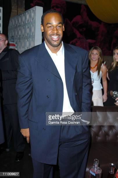 Donovan McNabb during Lionel Richie's 56th Birthday Party at PM in New York City New York United States