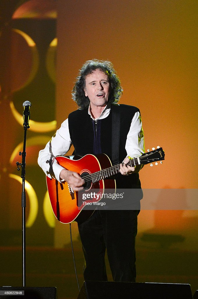 Donovan performs onstage at Songwriters Hall Of Fame 45th Annual Induction And Awards - Arrivals at Marriott Marquis Theater on June 12, 2014 in New York City.