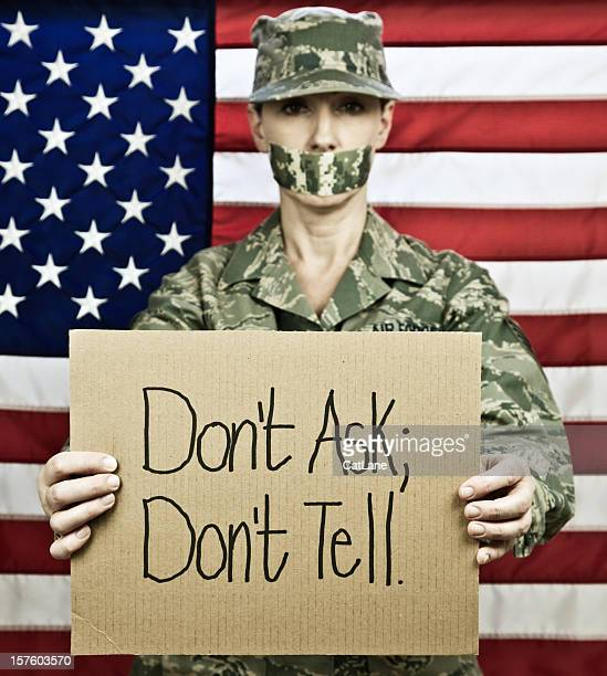 military policy dont ask dont tell