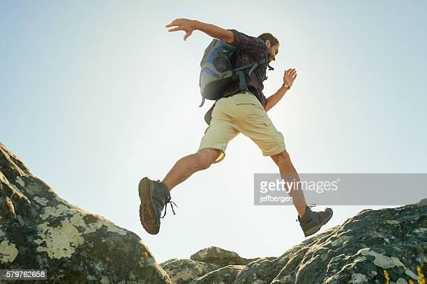 Don't be afraid to take a leap