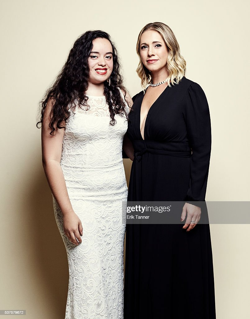 'Don't Tell Anyone' director/producer/editor Mikaela Shwer and subject Angy Rivera pose for a portrait at the 75th Annual Peabody Awards Ceremony at...