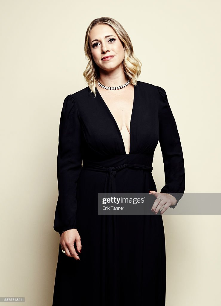 'Don't Tell Anyone' director/producer/editor Mikaela Shwer poses for a portrait at the 75th Annual Peabody Awards Ceremony at Cipriani Wall Street on...