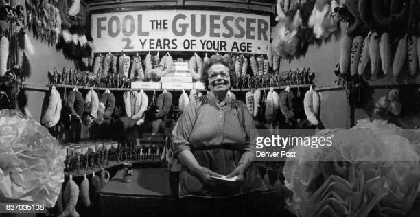 Don't Try to Fool This Guesser She's An Expert Dollie Kimpel who has been in the carnival business guessing people's weights and ages for 40 years is...