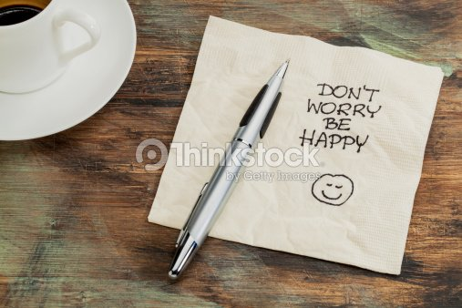Don't worry be happy : Stock Photo