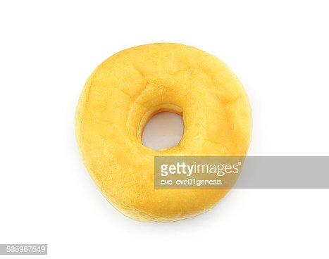 Donut Isolated on White Background : Stock Photo