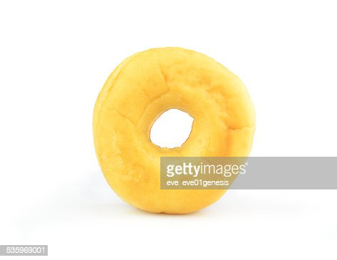 Donut Isolated on White Background : Stock Photo