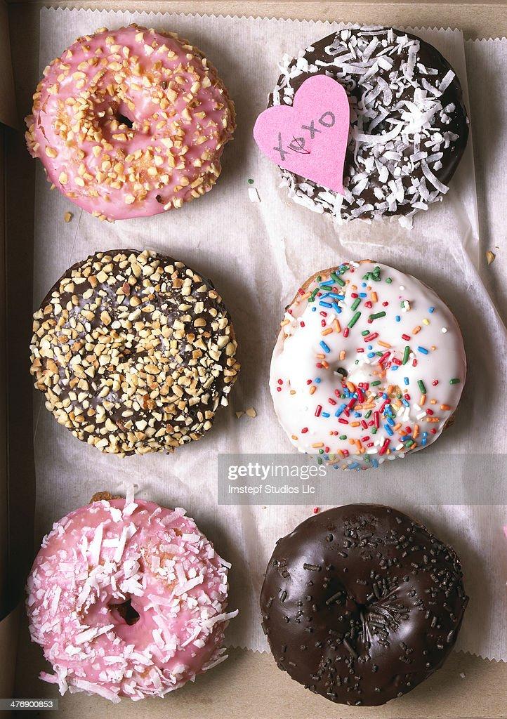 Donut Present : Stock Photo