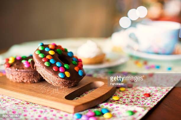 Donut tasty chocolate