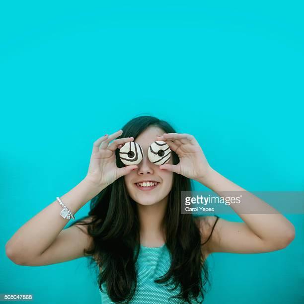 donuts girl