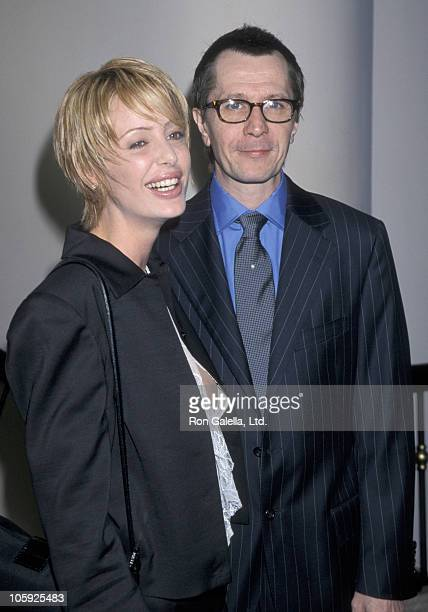 Donya Oldman and Gary Oldman during 5th Annual Broadcast Film Critics Association Awards at Beverly Hills Hotel in Beverly Hills California United...