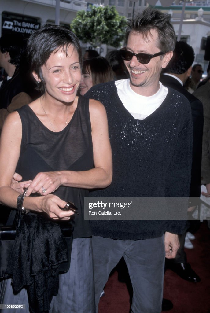 Donya Oldman and <a gi-track='captionPersonalityLinkClicked' href=/galleries/search?phrase=Gary+Oldman&family=editorial&specificpeople=213839 ng-click='$event.stopPropagation()'>Gary Oldman</a> during 'Quest for Camelot' Premiere at Mann Chinese Theatre in Hollywood, California, United States.
