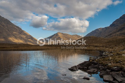 Doo Lough,Connemara Nationalpark : Stock Photo