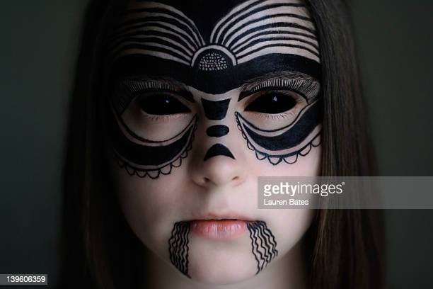 Doodle face paint