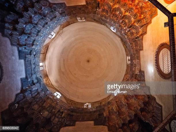 Doome of Sultan Hassan Mosque and Madrasa, Cairo, Al Qahirah, Egypt