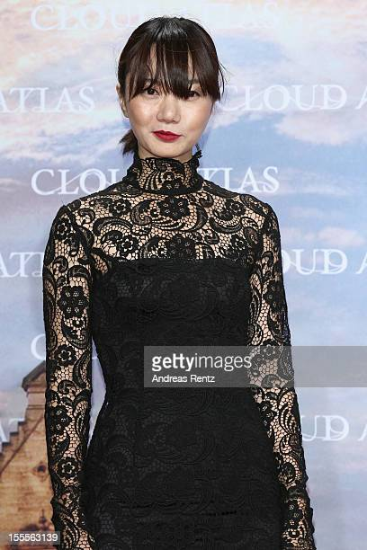 Doona Bae attends the 'Cloud Atlas' Germany Premiere at CineStar on November 5 2012 in Berlin Germany