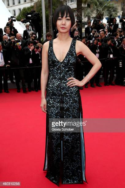 Doona Bae attends the 'Foxcatcher' premiere during the 67th Annual Cannes Film Festival on May 19 2014 in Cannes France