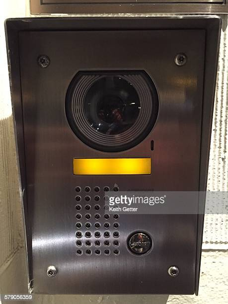 A door answering system that includes an intercom and video entry security September 9 2015 NYC