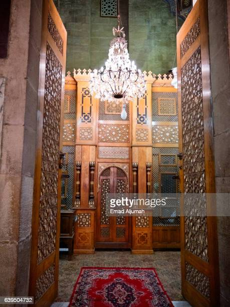door at Al Rifai Mosque in Cairo, Egypt