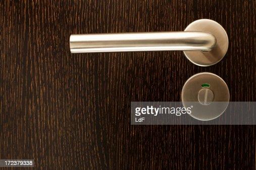 Door closeup open