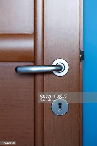 Détail sur la porte