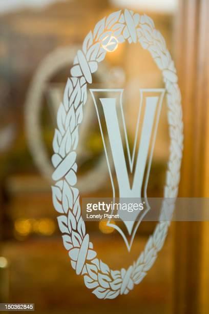 Door emblem, Hotel Grand Vesuvio.