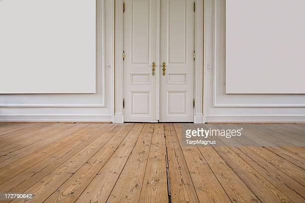 Tür und Wand Etage,