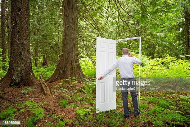 Porta nella foresta