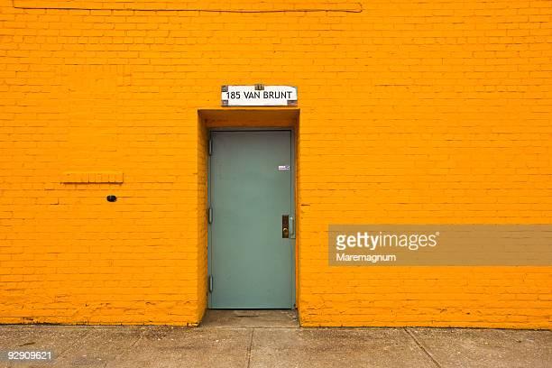A door in Van Brunt street
