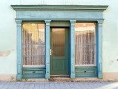 Door of an old shop