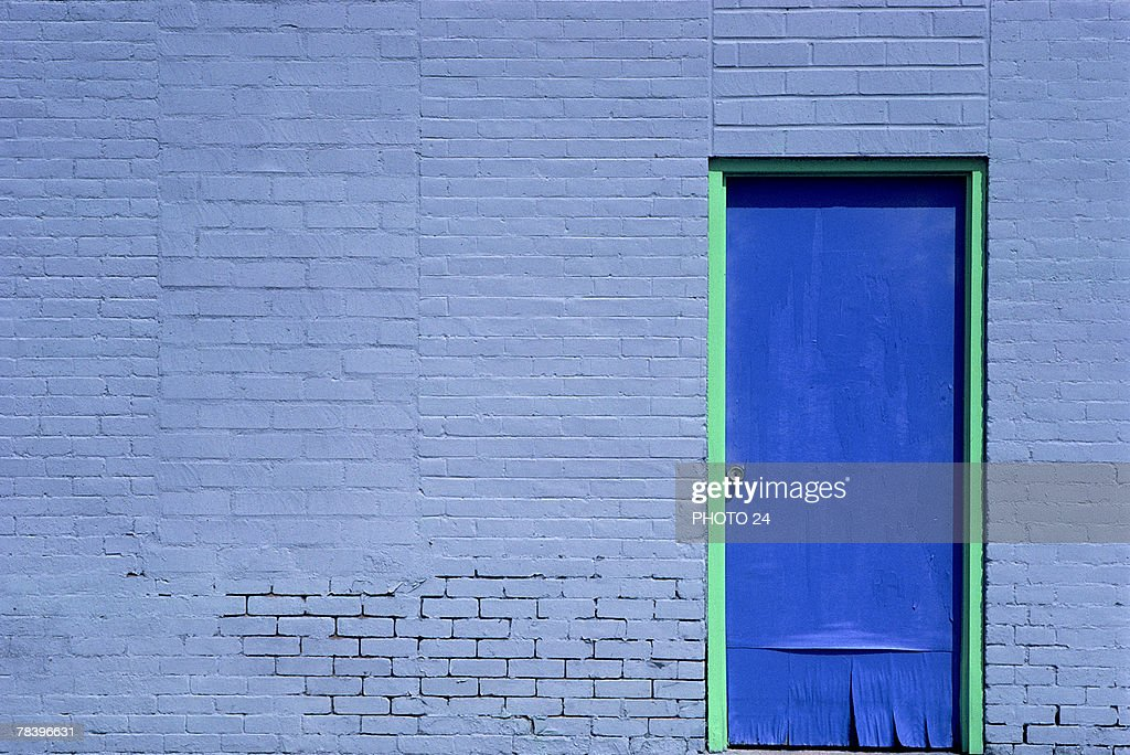 Door on building : Stock Photo