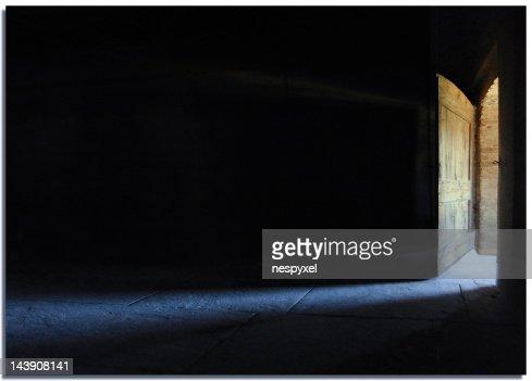 Door opened : Stock Photo