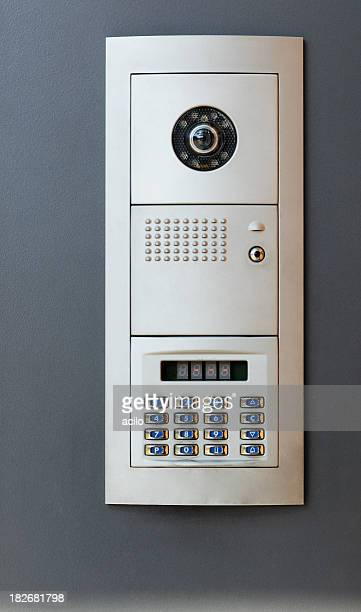 Door security code panal and intercom