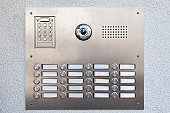Doorbell panel, Munich, Bavaria, Germany